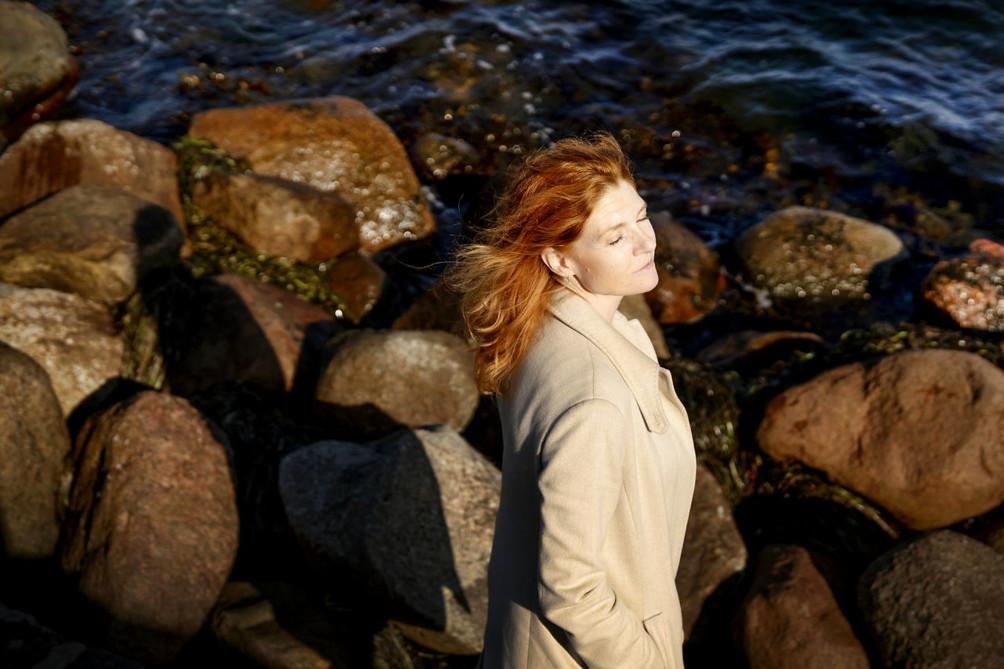 TV-A vært Nina Munch-Perrin.
